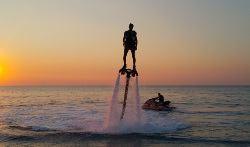 In mare col flyboard